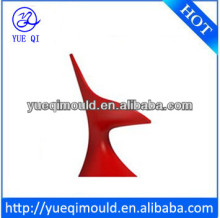 Modern plastic chair and aluminium mold