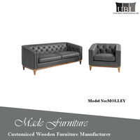 2017 Latest Design Vintage Tufted Chesterfield
