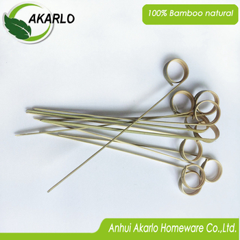disposable bamboo skewer bbq safe sticks