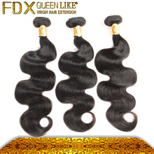 Free Weave Hair Packs machine make double weft Italian Human Hair Body Wave Great Texture for black women