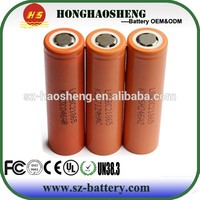 100% genuine high drain 3.7v rechargeable c2 lg 18650 li-ion battery 2800mah for motocycle