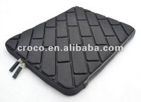 2012 Croco EVA brick case with zipper for iPad
