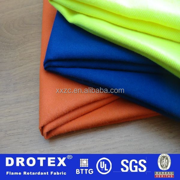 100%Cotton wholesale used fire retardant clothing manufacture