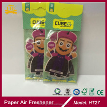 Cartoon design custom paper air freshener Guangzhou