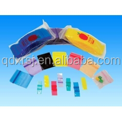 Apple logo mini plastic zip lock LDPE plastic bag