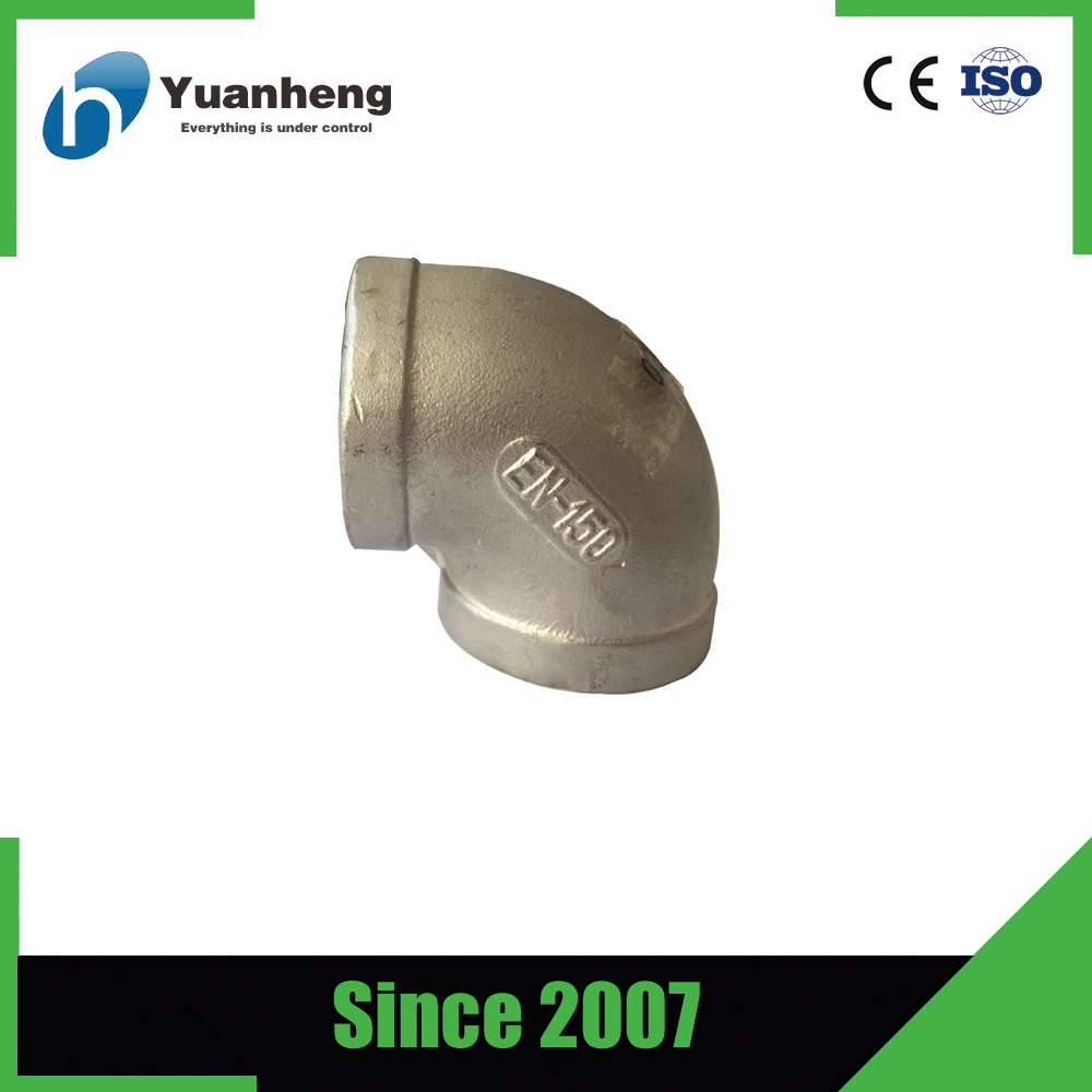 ss316 stainless steel elbow screwed pipe fittings