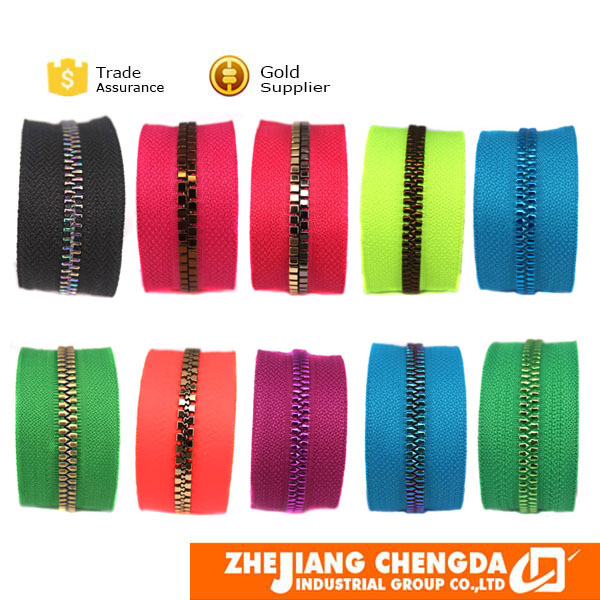 best garment accessory zipper decorative zippers wholesale for hand bags