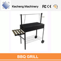 KC8344 Model High Efficiency 5-6 Persons Park Wooden Table BBQ Grills