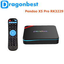 Pendoo X5 Pro RK3229 1G 8G TV Box home theater projectors android media player with high quality Android 6.0 set top box