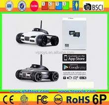 WiFi Remote Control By Iphone Android rc spy car rc tank with Real-time Video Moving HD camera
