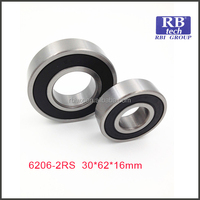 deep groove ball bearing 6206 6206ZZ 6206RS china manufacturer used for engine parts