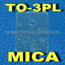 Mica Parts for electronic components