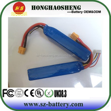 Manufacturer with CE,ROHS,UL certificates lipo battery 11.1v 5000mah