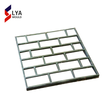 Wholesale DIY Pavement Mould Plastic Concrete Garden Pavement Mould