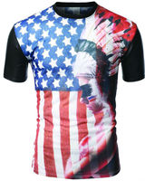 Fashion design leisure sublimation t shirt distribution