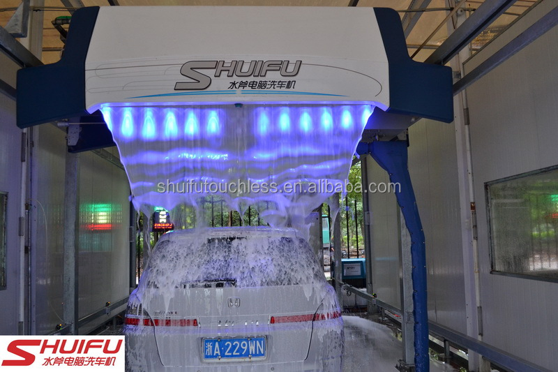 Touchless Car Wash PE-M9 LED Lighting Foam 22KW Built-in Dryer