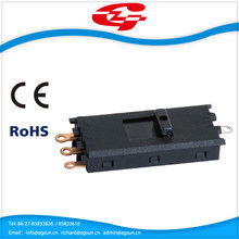 7A 250V protect slide switch for hair dryer