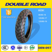 Wholesale double road dealer classic sport motorcycle tyres 90/90-19 manufacturer supply
