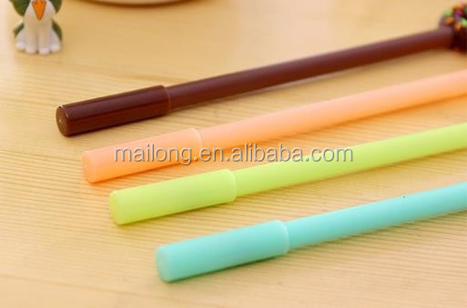 South Korea lovely donuts neutral office stationery learning felt-tip pens Students black pen PN3377