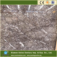 Buffett brown with white veins expensive marble