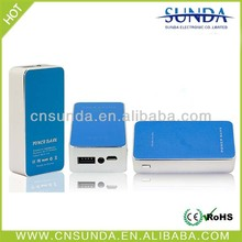 Sunda New Power Bank Leather Cover mobile phone power bank 5000