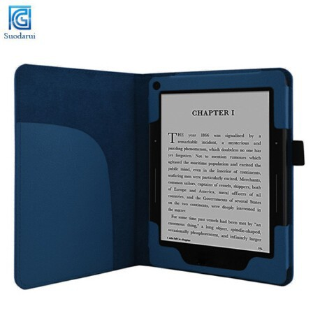 Best Price For Kindle Voyage Book Stand Leather Tablet PC Case Cover