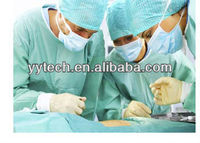 Disposable Non-woven Surgical Clothing with Knitting Cuff knitted dove clothing hospital clothing disposable