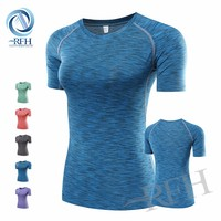 2016 New sportswear gym fitness clothing dri fit shirts Running Wear for women