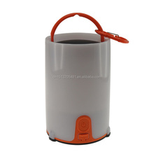 2017 Hot sales outdoor USB recharge camping lantern 2AA or 18650 Li-ion battery