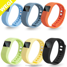TW64 Health sports bracelet Wristband Fitness tracker Blue 4.0 Watch for ios samsung android phone