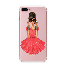 High Quality phone back cover case for iphone 6 oem mobile new style slim fancy supplier