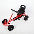 China factory  simple design pedal go kart for 3--15years old kids F110A
