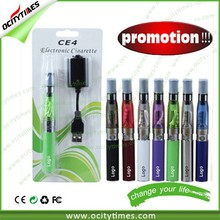 Ocitytimes ego ce4 coil replaceable clearomizer, EGO CE4 double kit, ego-t ce4 blister pack