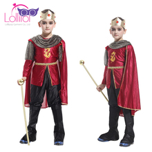 Halloween carnival costumes wholesale boys prince dress up costume for kids