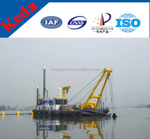 price of sand pumping dredger with cutter suction dreger low price