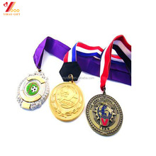 2017 Cheap custom design award/ sports metal medal with high quality