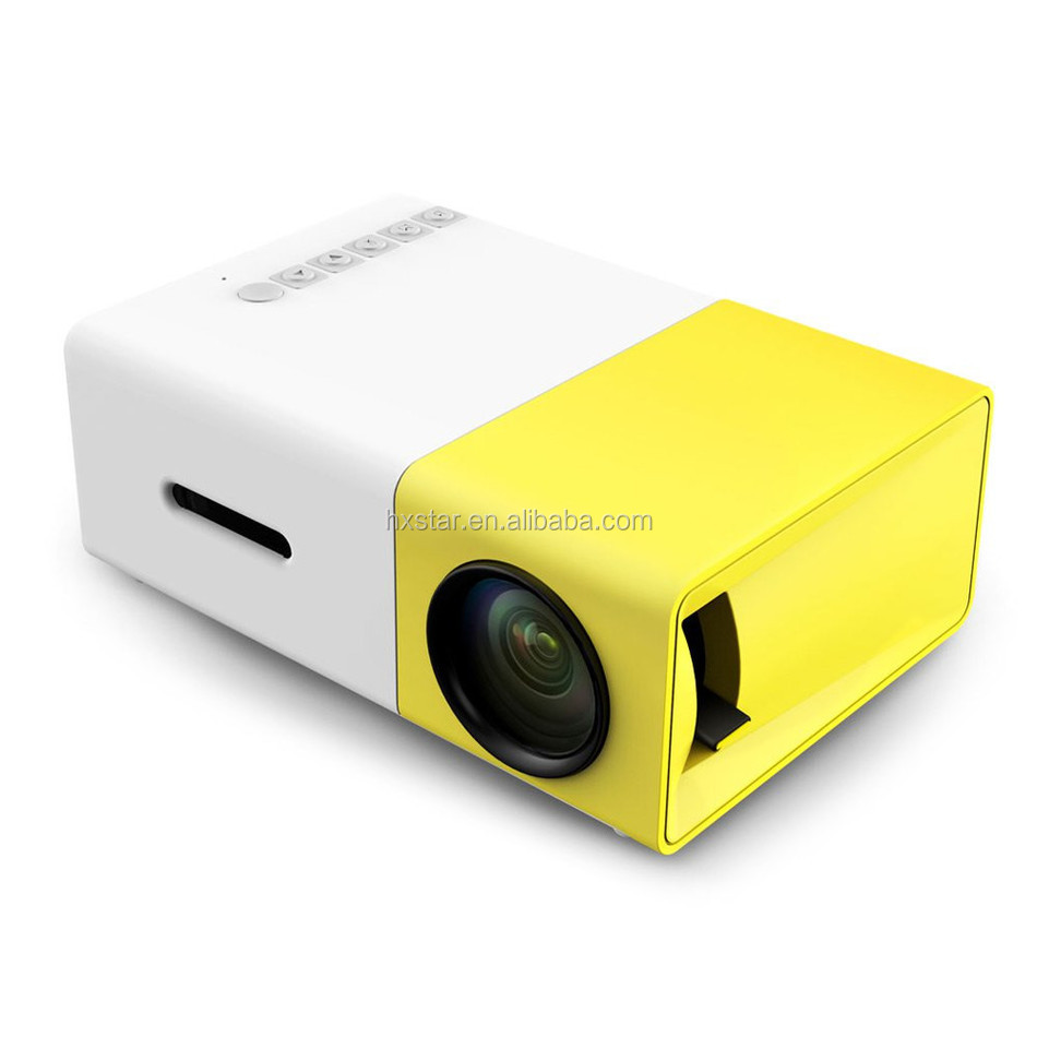 Best selling Used for Home Mini LED Micro DLP Multimedia Home Cinema Movie Theater video projector