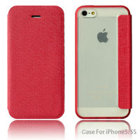 Exclusive wallet leather phone flip case cover for iphon iphone 5