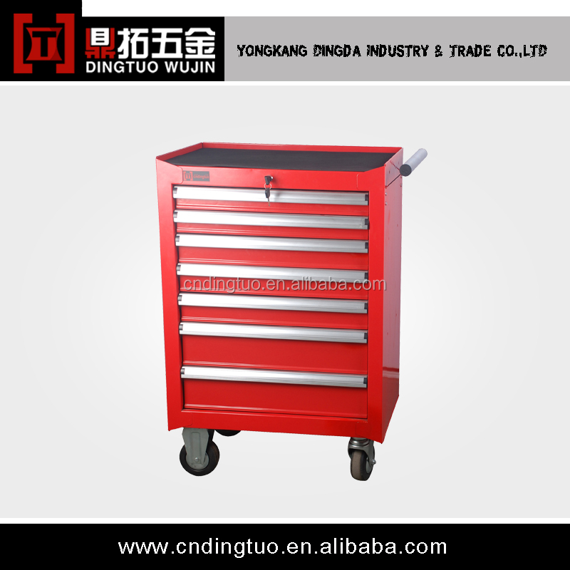 Heavy duty 7-drawers tool case