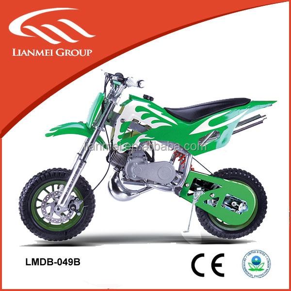 off road 49cc mini moto cross kids gas dirt bikes with CE approved for hot sale