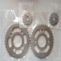 Japan Quality CG125 Motocycle Sprocket And Chain Kits