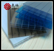 bullet-proof materials grey\white\clear transparent pc roofing sheet