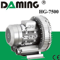7.5kw Side Channel High Pressure Air Ring Blower Pump