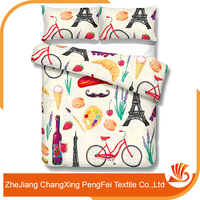 Supply Cozy Textile Material Bed Cover