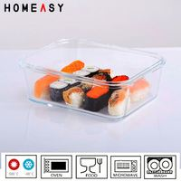 Heat-resistant walmart food storage containers
