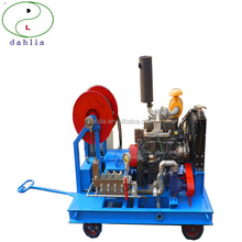 electric or diesel high pressure cleaning machine for industrial condenser tube heat exchanger tube washing