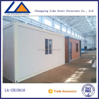 China ISO High Quality Sandwich Panel Container Homes India Chennai