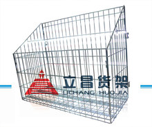 Supermarket used stainless steel wire mesh grid rack