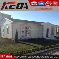Panelized Prefab Cabin Kits Homes / Sandwich Panel House 8
