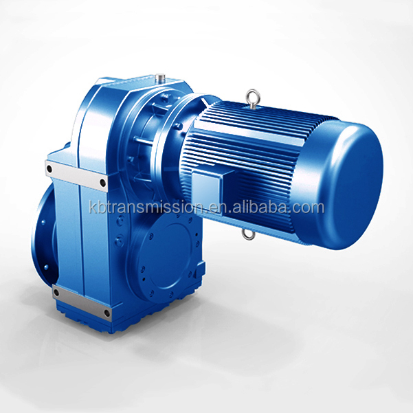 SEW style power transmission high torque reducer low speed reduction helical gearbox three phase motor with gear box